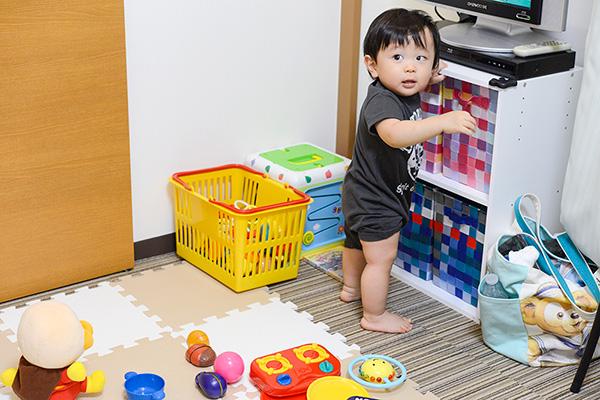 おもちゃもいっぱい!