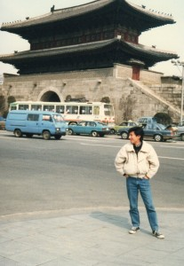 韓国へ留学