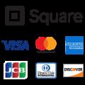 各種クレジットカードご利用できます。